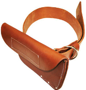 Oversized Leather Scabbard and Belt