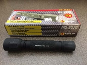 Pelican M3 3370, 140 Lumen Flashlight, Expired batteries