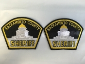 Sacramento County Sheriff Uniform Patches