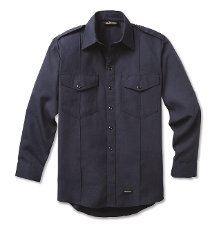 Fire Chief Long Sleeve Shirt with working Epaulets